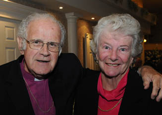 Archbishop and Joan Bothwell