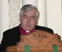 Guest Speaker, Bishop David Ashdown of the Diocese of Keewatin
