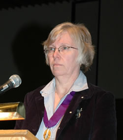Judy Conning presented the propoed 2006 budget in narrative form.