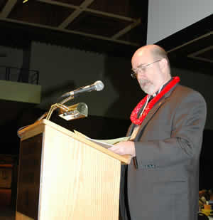 Mark Tiller, chair of Synod Planning Committee