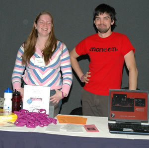 The Youth Ministry Display table