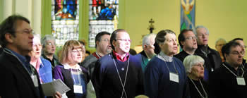 Opening Hymn at second session of Synod