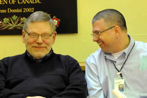 Synod Delegates enjoy lighter moments in discussions