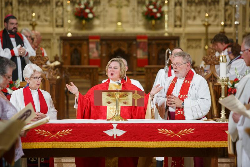Bishop Celebrating