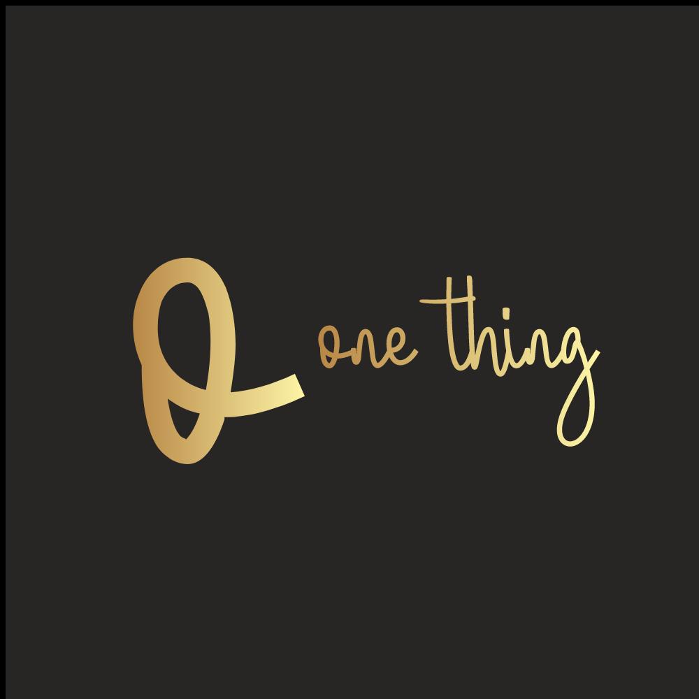 One Thing Logo
